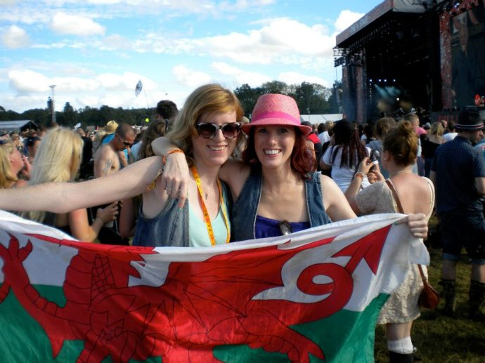 V Festival 2012 with my sister