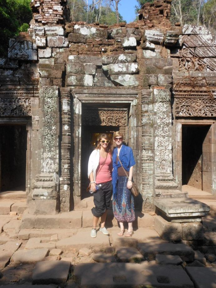 Visiting several beautiful temples including Wat Phu in Southern Laos