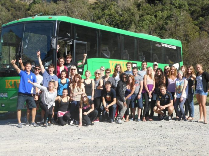 The Kiwi Experience bus