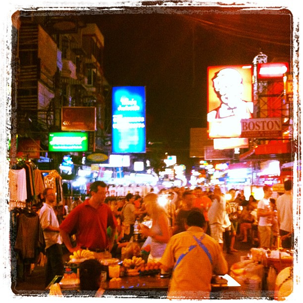 Khao San by night