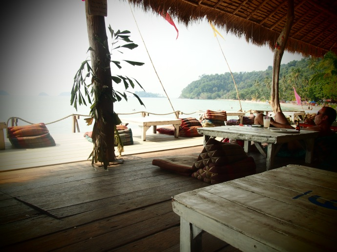Where I spent a lot of my time in Koh Chang