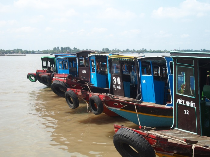 River crossing boats