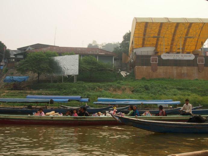 Mekong river crossing