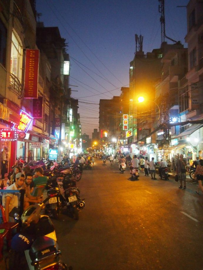 Experiencing a culture shock in Saigon - the place that made me feel the most homesick.
